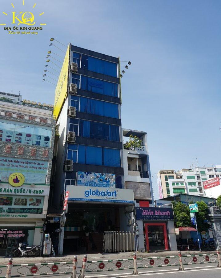 Bên ngoài Đông Á Building