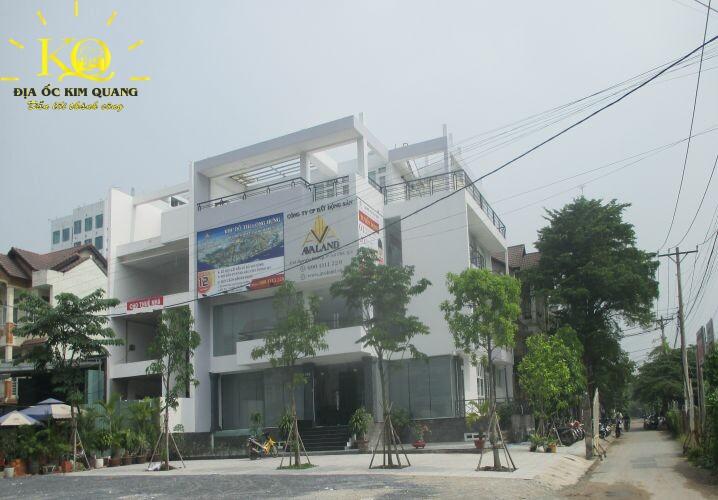 Bên ngoài Nguyễn Hoàng Building