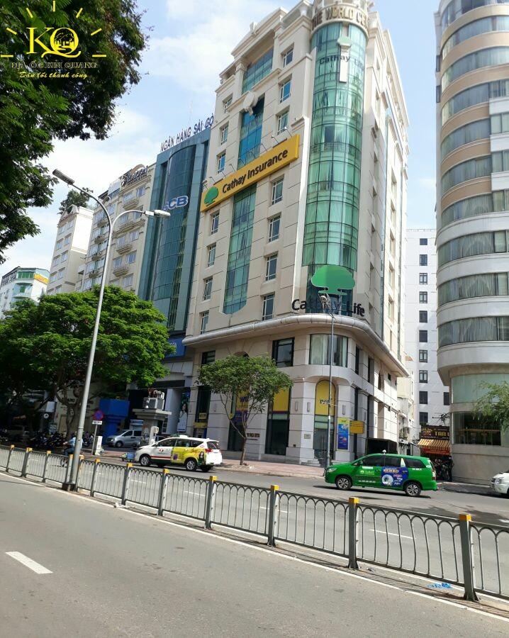 Giao thông phía trước SCB Bank 2