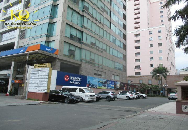 Giao thông phía trước Saigon Riverside Office
