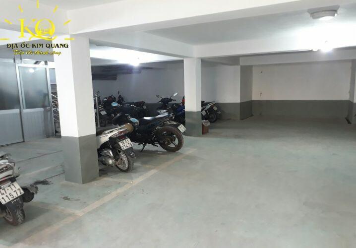 Hầm gửi xe Lương Định Của Office