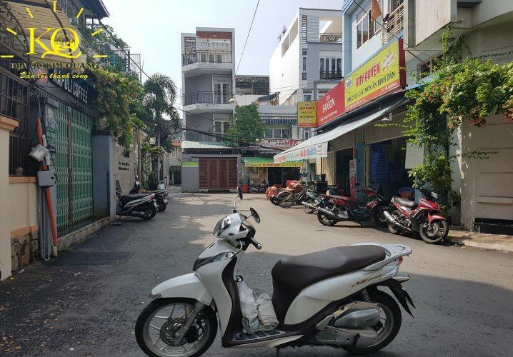 Hẻm thông ra đường chính Office SSI 2