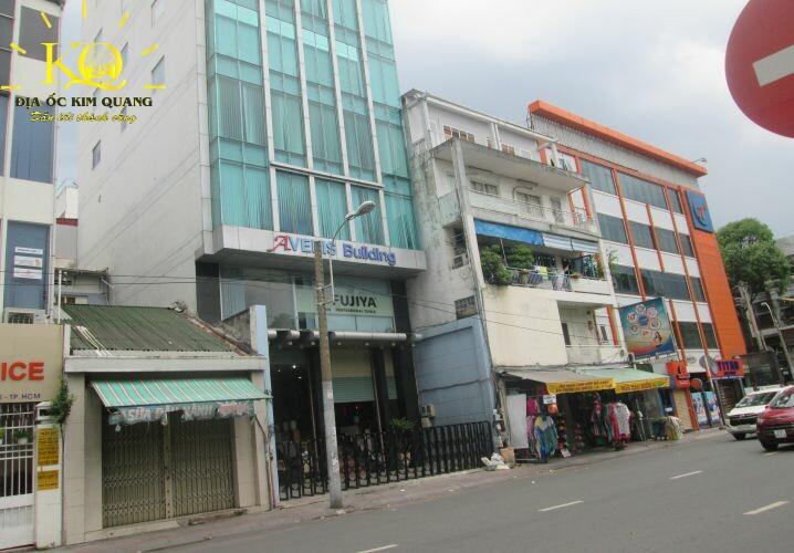 Phía trước Avenic Building