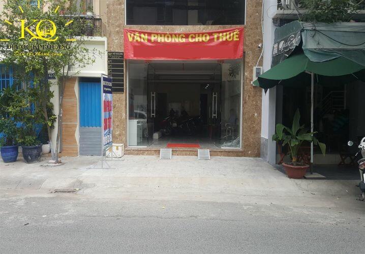 Phía trước Ngọc Việt Building
