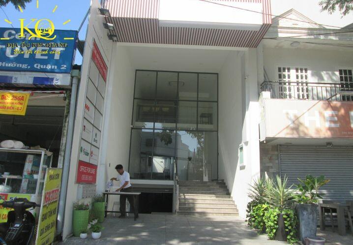 Phía trước Nguyễn Văn Hưởng Building