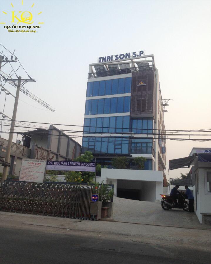 Phía trước Thái Sơn S.P