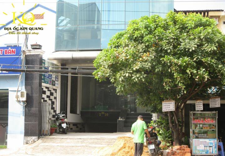 Phía trước Tòa nhà NX