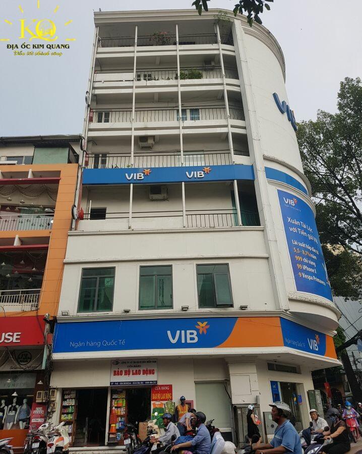Phía trước Trí Việt Building