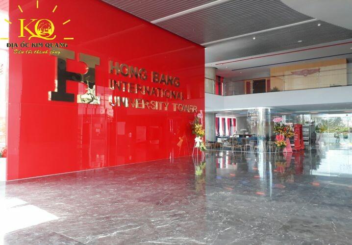 Tầng trệt và tầng lửng Hồng Bàng Buildin