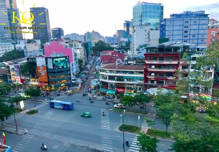 View nhìn từ Thiên An Office Space