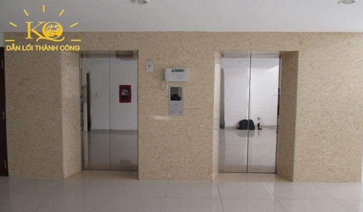 Thang máy bên trong tòa nhà văn phòng đường Phan Tôn