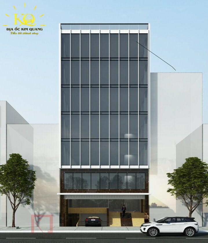 Phối cảnh tòa nhà đường Tiền Giang