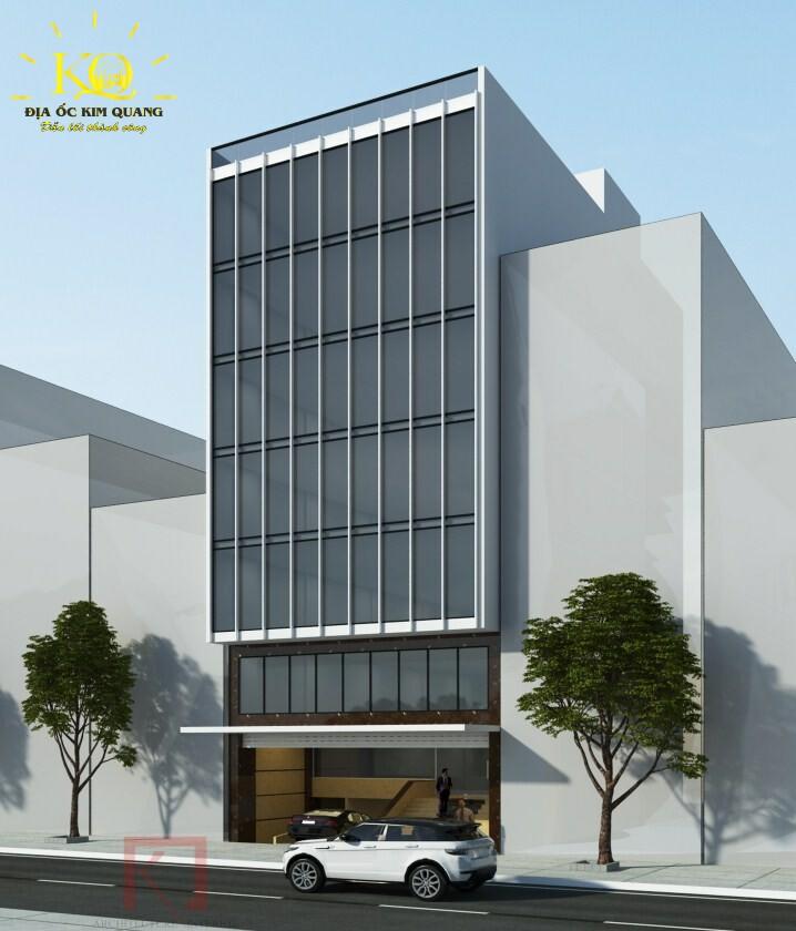 Phối cảnh tổng quan tòa nhà bán đường Tiền Giang
