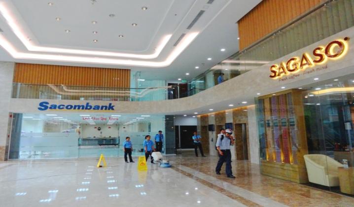 Tầng lửng tòa nhà đường Phạm Ngọc Thạch