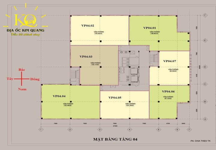 Layout tầng 4