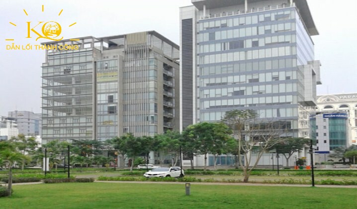 Bên ngoài Nam Long Capital building