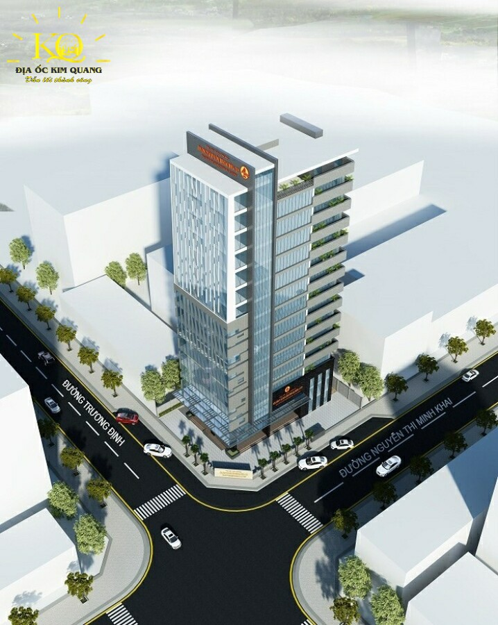 Phối cảnh tòa nhà Cienco 4 Building