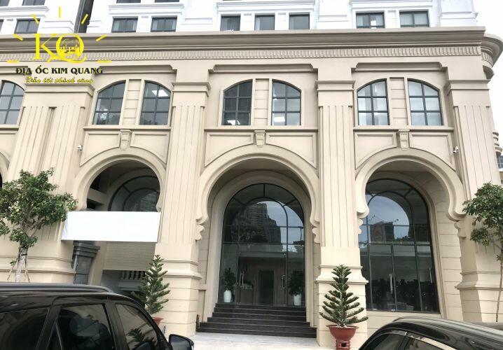 Văn phòng cho thuê Metro Tower lối vào