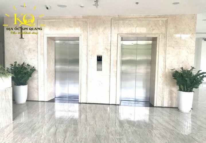 Văn phòng cho thuê Metro Tower thang máy