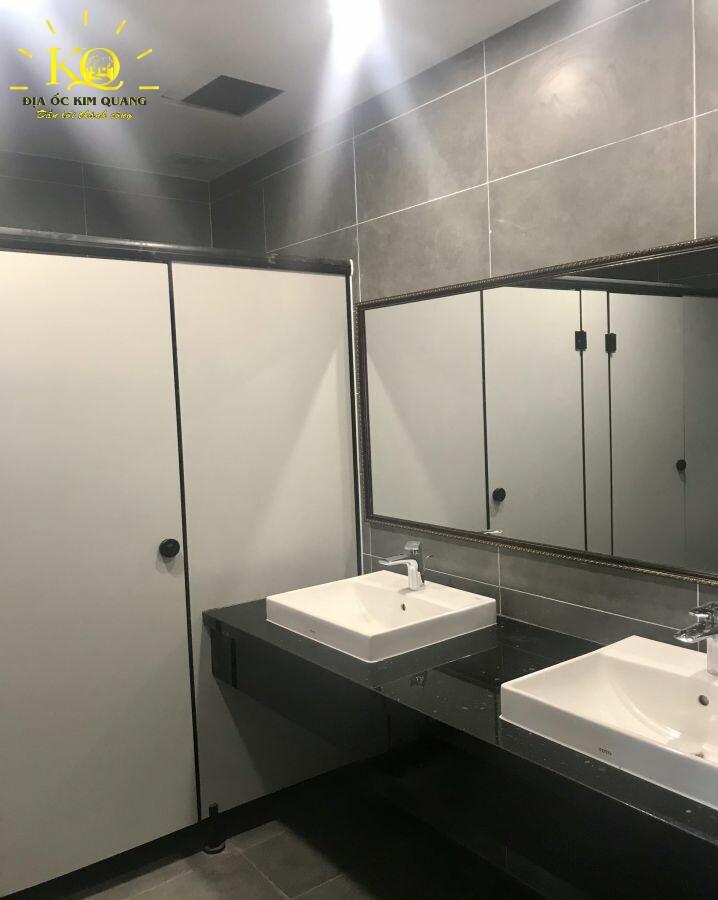 Văn phòng cho thuê Metro Tower toilet