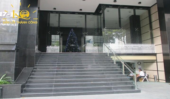 Tầng trệt tòa nhà Hà Phan building