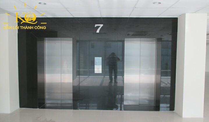 Hệ thống thang máy tại tòa nhà Hà Phan building