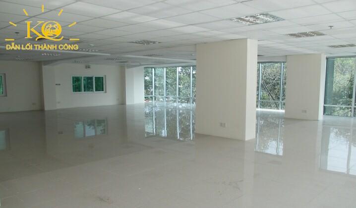 Diện tích trống tại tòa nhà Hà Phan building