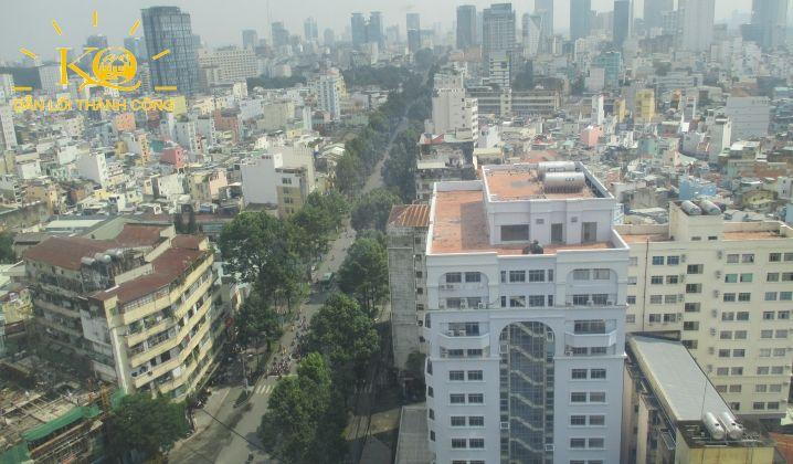 Hướng view từ tòa nhà MB Sunny Tower
