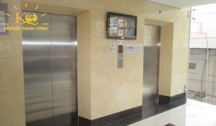 Hệ thống thang máy tại tòa nhà MB Sunny Tower