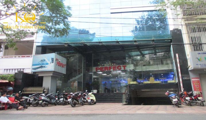 Phía trước tòa nhà NDT Building