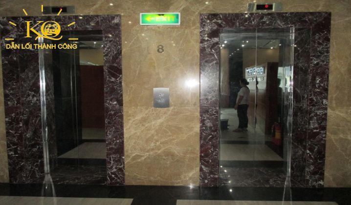 Hệ thống thang máy tại tòa nhà NDT Building