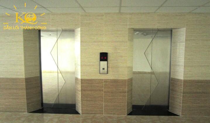 Thang máy tại Nguyễn Hữu Cầu building