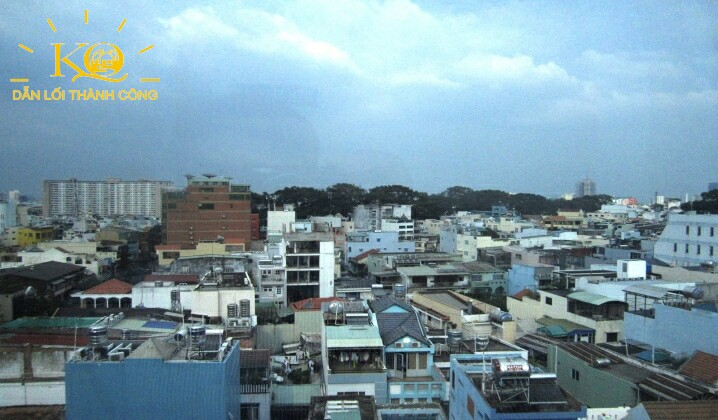 View từ Nguyễn Hữu Cầu building