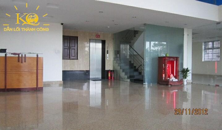 Tầng trệt tòa nhà NVT Building