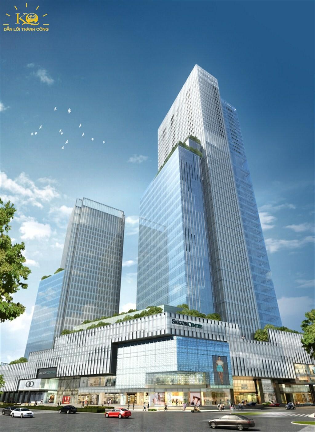 Bao quát tòa nhà Saigon Centre 2