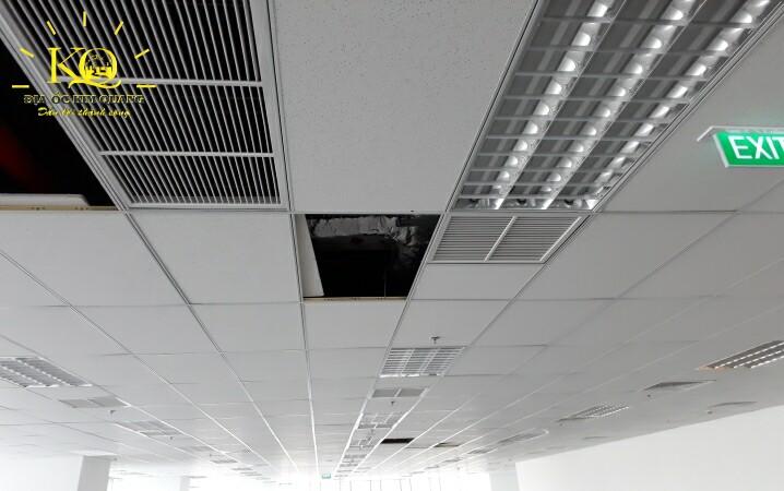 Hệ thống đèn trần tại tòa nhà Saigon Centre 2