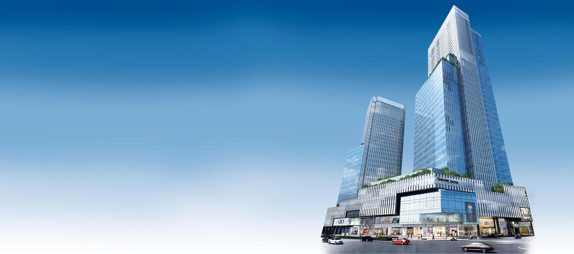 Toàn cảnh tòa nhà Saigon Centre 2