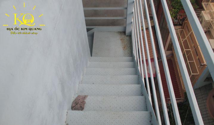 Lối thoát hiểm tại tòa nhà 3G Building