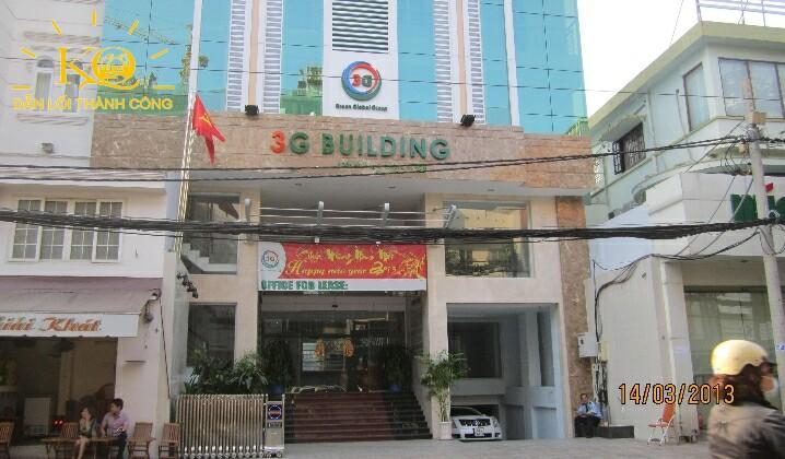 Phía trước tòa nhà 3G Building