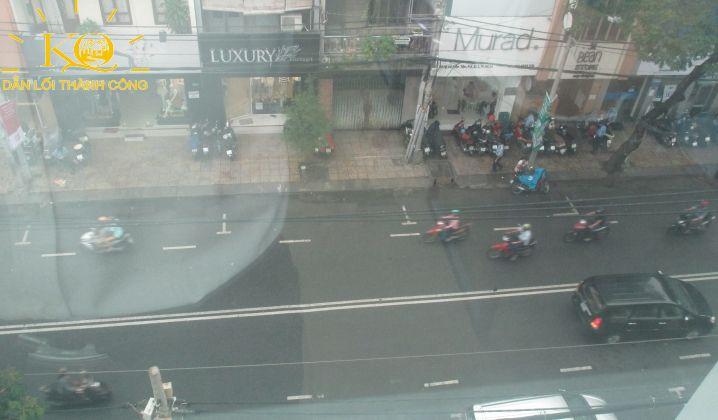 View từ tòa nhà 3G Building