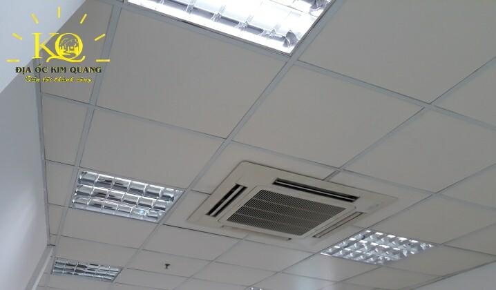 Hệ thống máy lạnh tại tòa nhà Air Garden Building