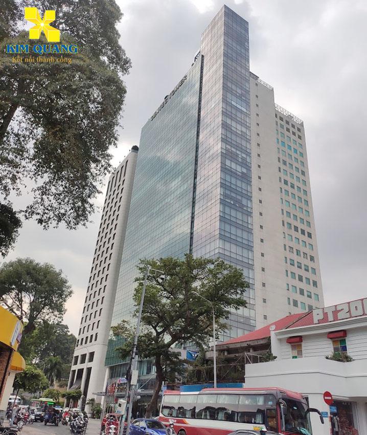 Hình chụp tổng quan tòa nhà Centec Tower