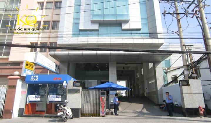 Bên ngoài tòa nhà ACB Bank Building