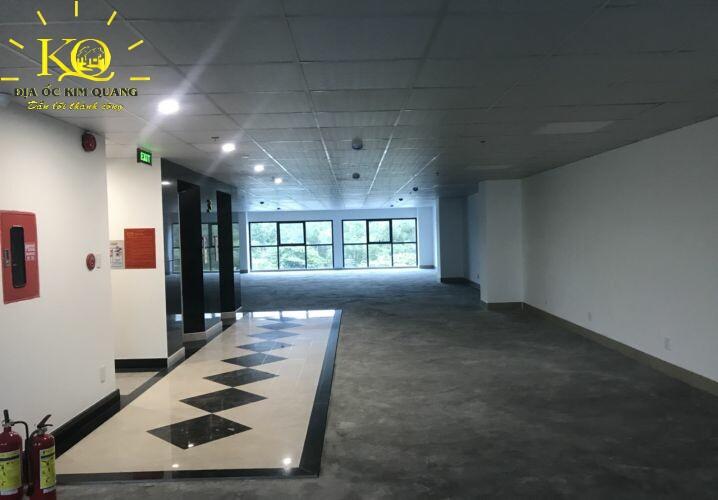 Cho thuê văn phòng quận Bình Thạnh B&L Tower diện tích trống bên trong  Địa ốc Kim Quang