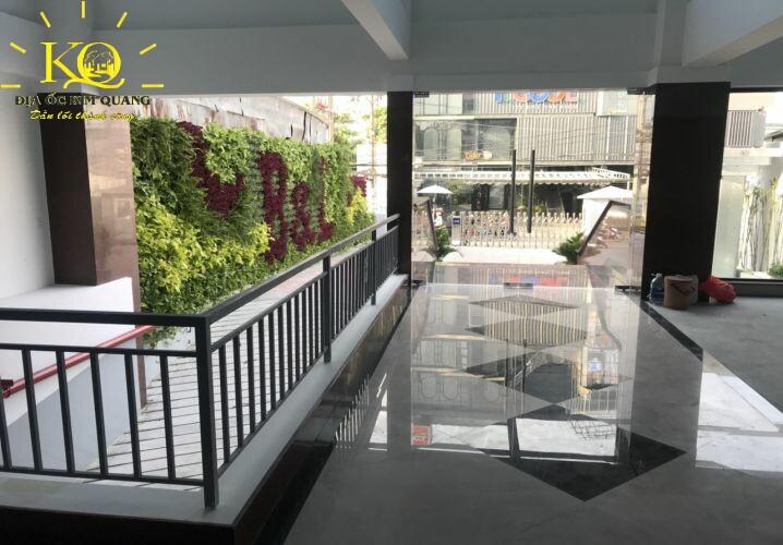 Cho thuê văn phòng quận Bình Thạnh B&L Tower hành lang  Địa ốc Kim Quang