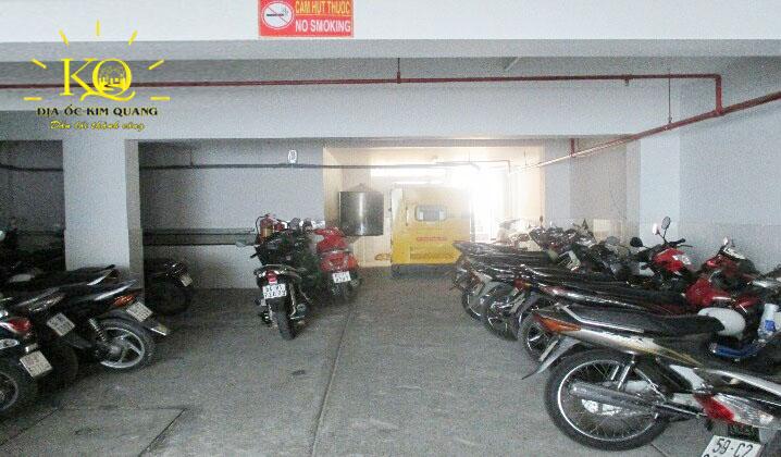Hầm giữ xe tòa nhà Compa Building