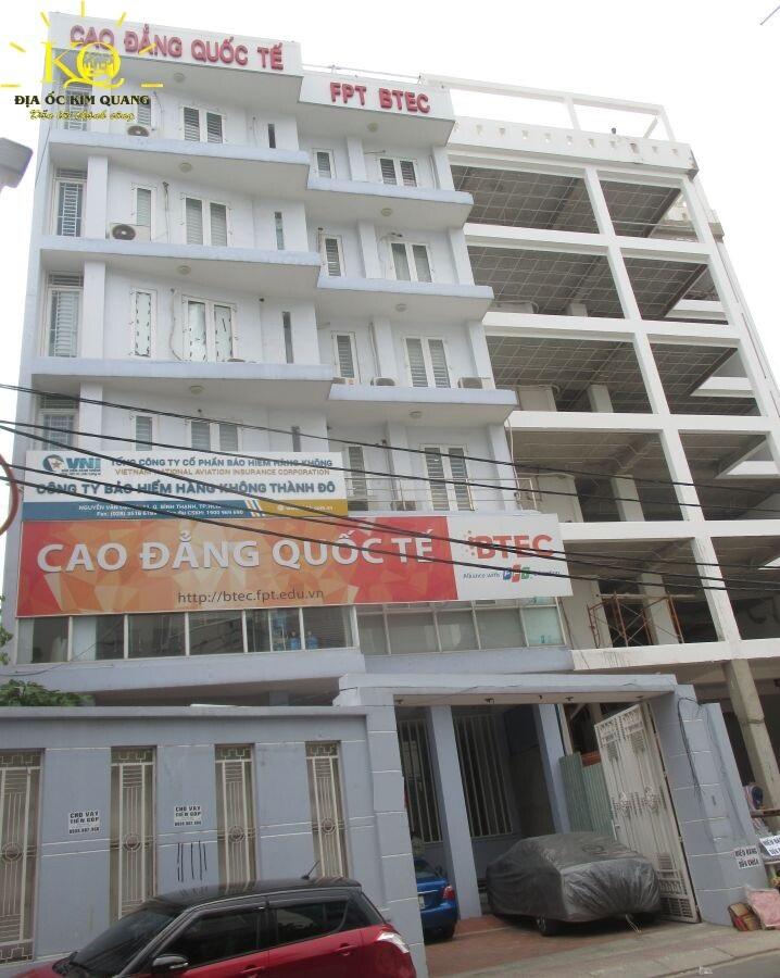 Bên ngoài tòa nhà Gic Nguyễn Văn Đậu Building
