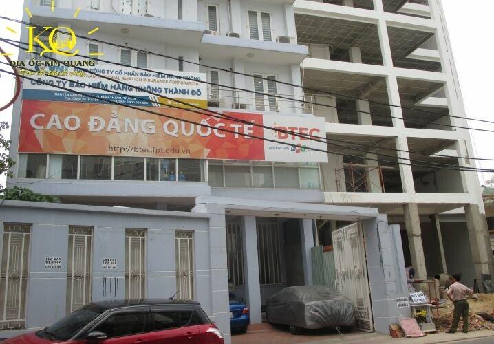 Phía trước tòa nhà Gic Nguyễn Văn Đậu Building