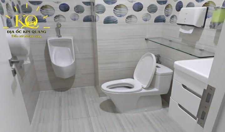 Khu vực vệ sinh tại tòa nhà Saigon Pearl Gia Kỳ