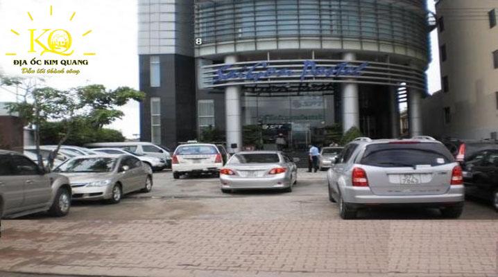 Khuôn viên phía trước tòa nhà Saigon Postel Building